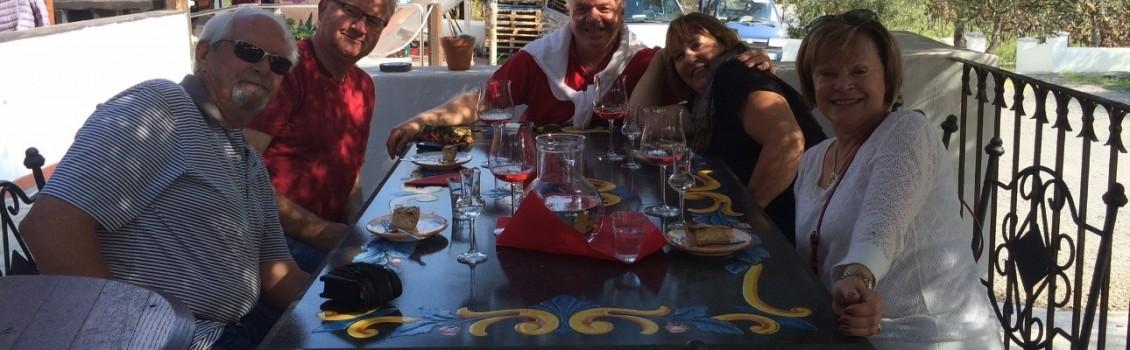 Wine tour Pompeii