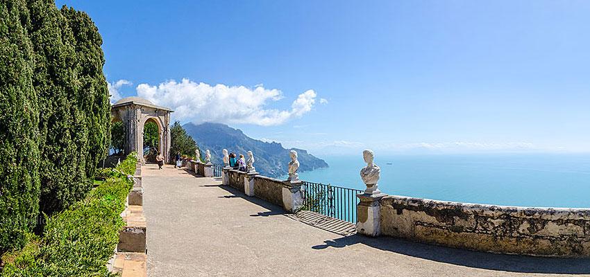 Salerno Shore Excursion Amalfi Coast Ravello