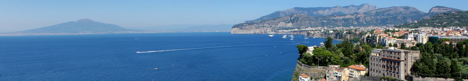 The Gulf of Naples from Sorrento